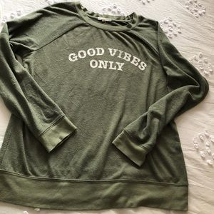 Good Vibes Only sweater sweatshirt